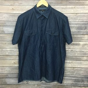 Tommy Hilfiger Indigo Button Down Shirt